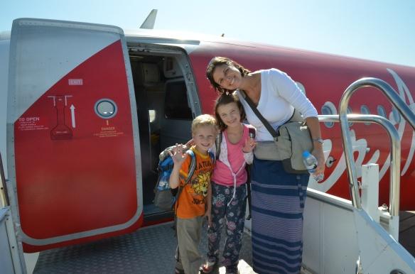 Départ de Mandalay pour Bangkok